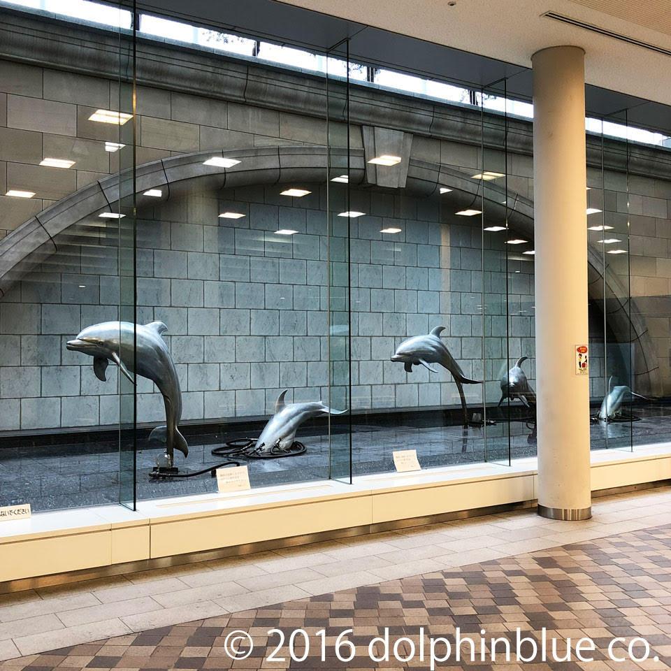 イルカのオブジェ at 竹芝桟橋