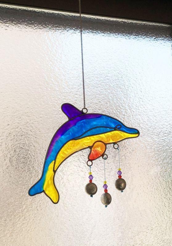 イルカのサンキャッチャー
