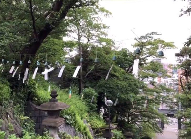 500個の風鈴の音を聴く at 池上本門寺
