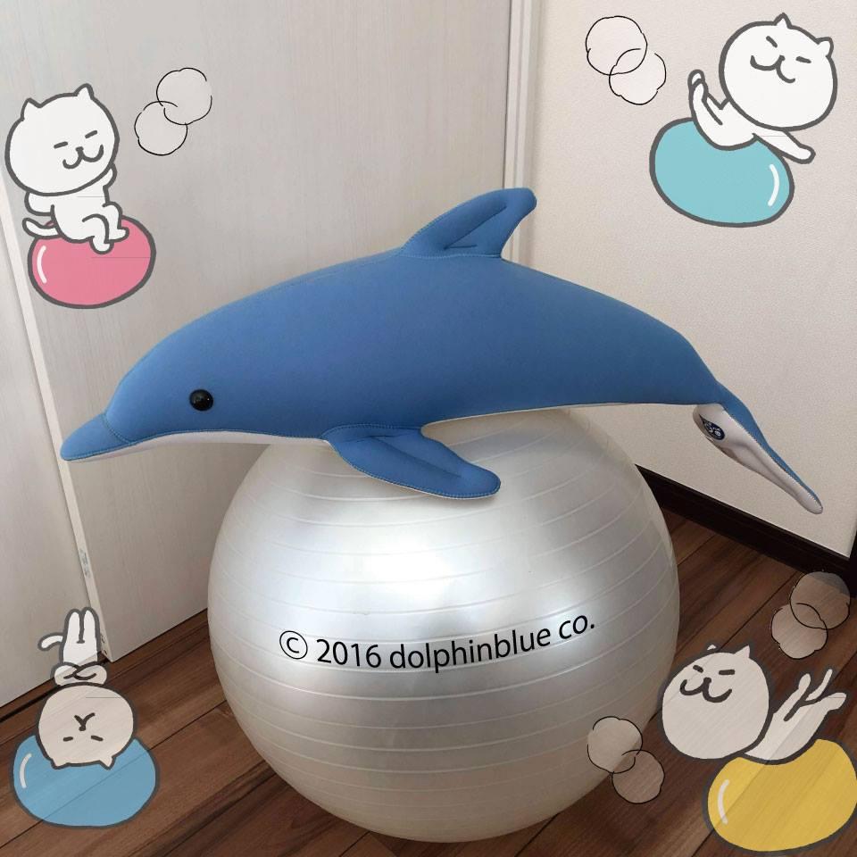 イルカの抱き枕